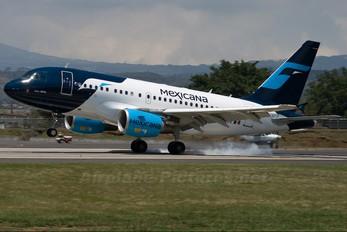 MX-UBX - Mexicana Airbus A318