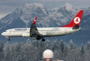 TC-JFE - Turkish Airlines Boeing 737-800 aircraft