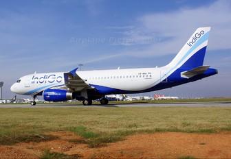 VT-INA - IndiGo Airbus A320