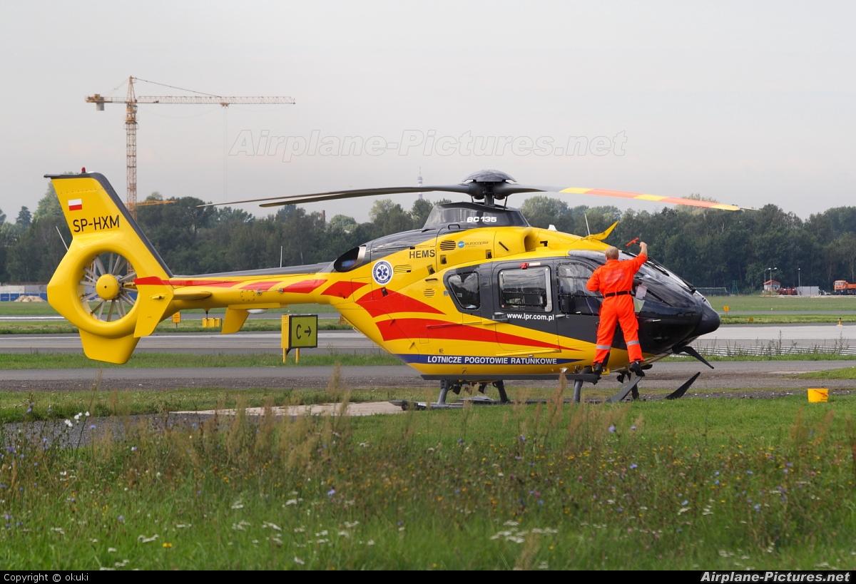 Polish Medical Air Rescue - Lotnicze Pogotowie Ratunkowe SP-HXM aircraft at Łódź - Lublinek