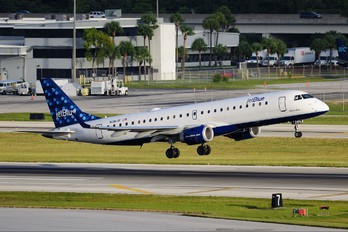 N281JB - JetBlue Airways Embraer ERJ-190 (190-100)