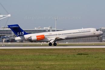 SE-DIP - SAS - Scandinavian Airlines McDonnell Douglas MD-87