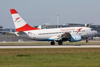 OE-LNM - Austrian Airlines/Arrows/Tyrolean Boeing 737-600