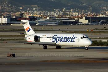EC-KHX - Spanair McDonnell Douglas MD-87