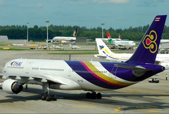 HS-TEE - Thai Airways Airbus A330-300