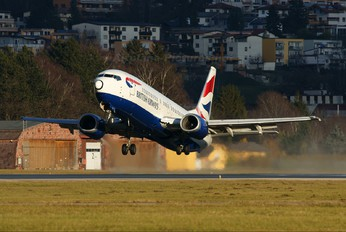 G-DOCH - British Airways Boeing 737-400
