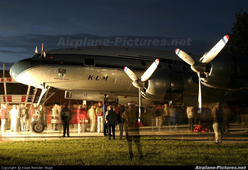 Private N749NL aircraft at Lelystad