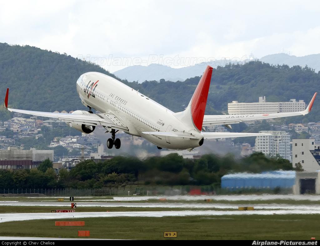 JAL - Express JA307J aircraft at Osaka - Itami Intl