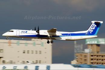 JA853A - ANA - All Nippon Airways de Havilland Canada DHC-8-400Q / Bombardier Q400
