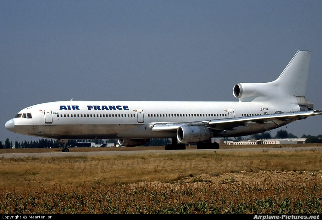Air France C-FTNA aircraft at Paris - Orly