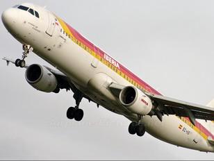EC-IIG - Iberia Airbus A321