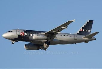N529NK - Spirit Airlines Airbus A319