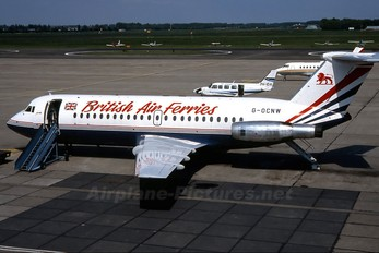 G-OCNW - British Air Ferries  BAF BAC 111