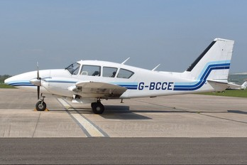 G-BCCE - Private Piper PA-23 Aztec