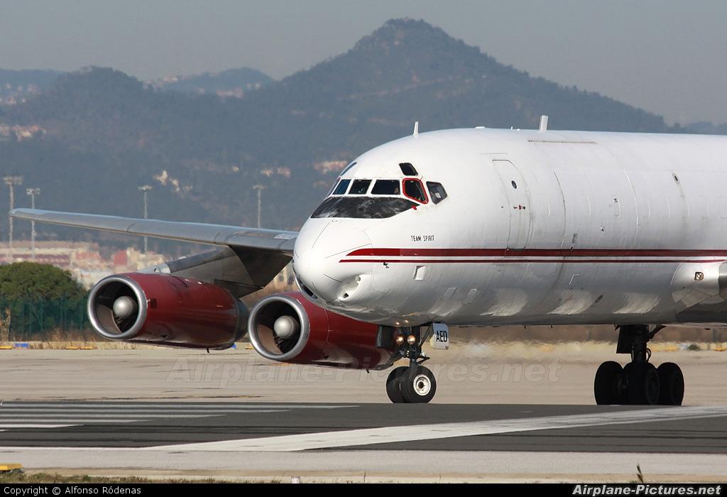 Air Charter Express 9G-AED aircraft at Barcelona - El Prat