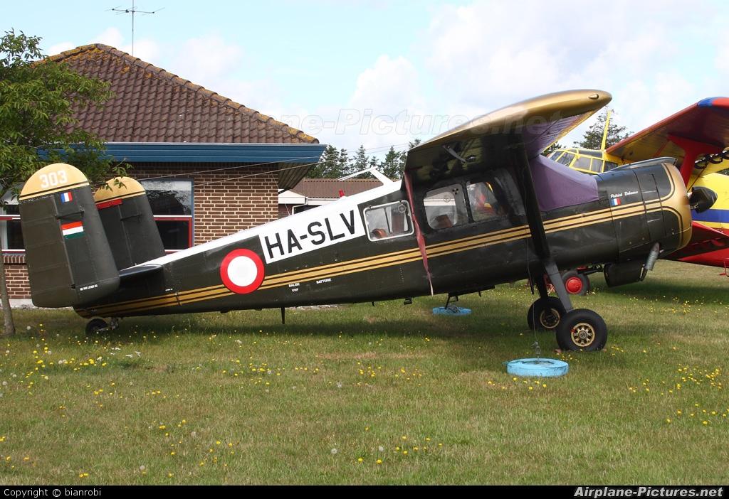 Private HA-SLV aircraft at Stauning