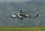 7357 - Czech - Air Force Mil Mi-24V aircraft