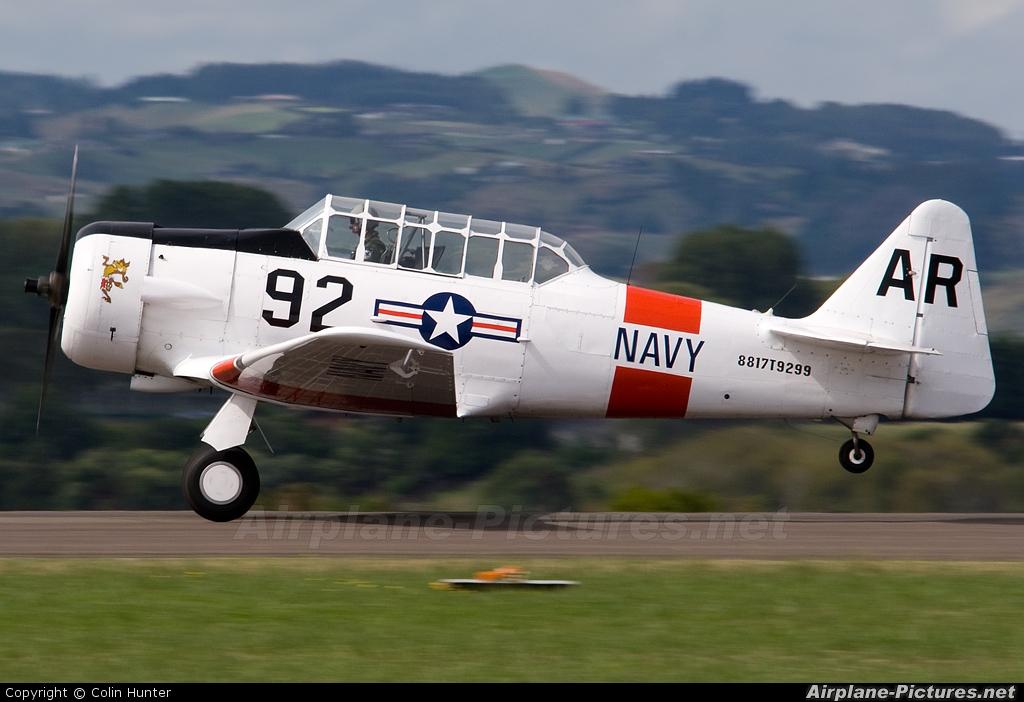 Private ZK-WAR aircraft at Tauranga