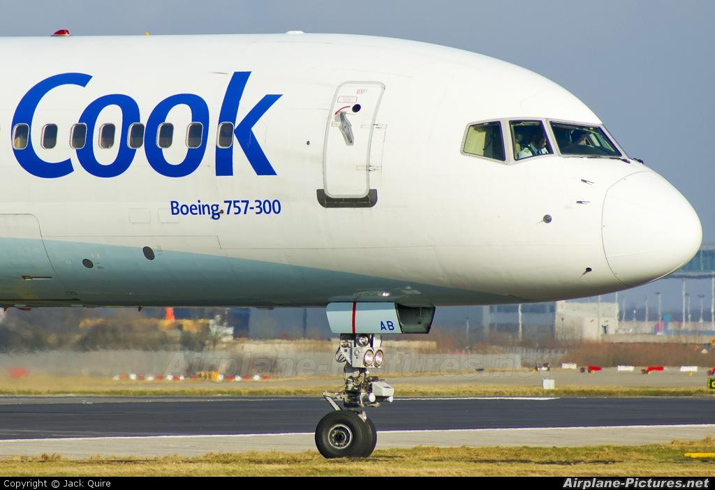 Thomas Cook G-JMAB aircraft at London - Gatwick