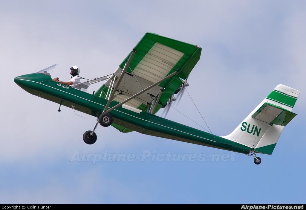 Private ZK-SUN aircraft at Tauranga