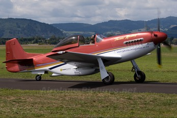 ZK-TMG - Private Papa 51 Thunder Mustang