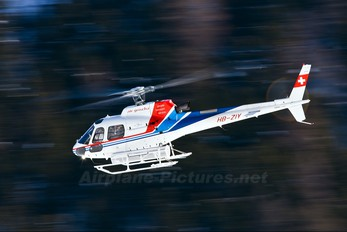 HB-ZIY - Air Grischa Aerospatiale AS350 Ecureuil / Squirrel
