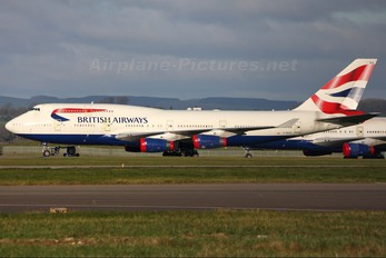 G-BNLB - British Airways Boeing 747-400