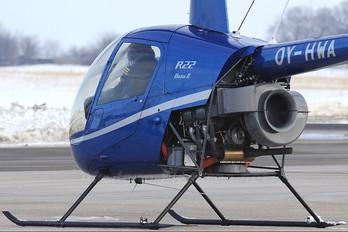 OY-HWA - Private Robinson R22