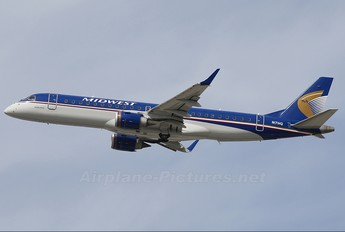 N171HQ - Midwest Airlines Embraer ERJ-190 (190-100)