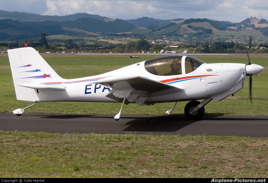 Private ZK-EPA aircraft at Tauranga