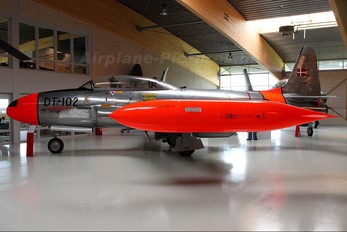 DT-102 - Denmark - Air Force Lockheed T-33A Shooting Star