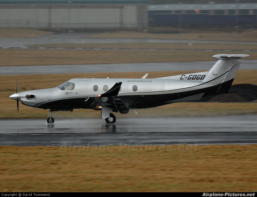 Private C-GDGD aircraft at Prestwick