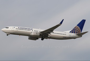 N14250 - Continental Airlines Boeing 737-800