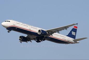 N169UW - US Airways Airbus A321