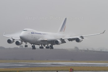 F-GIUC - Air France Cargo Boeing 747-400F, ERF