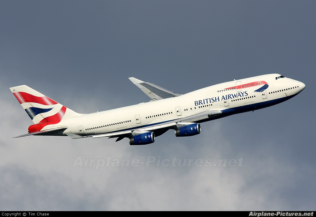 British Airways G-BYGG aircraft at London - Heathrow