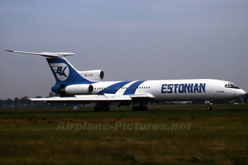 ES-LTR - ELK-Estonian Airways   Tupolev Tu-154M