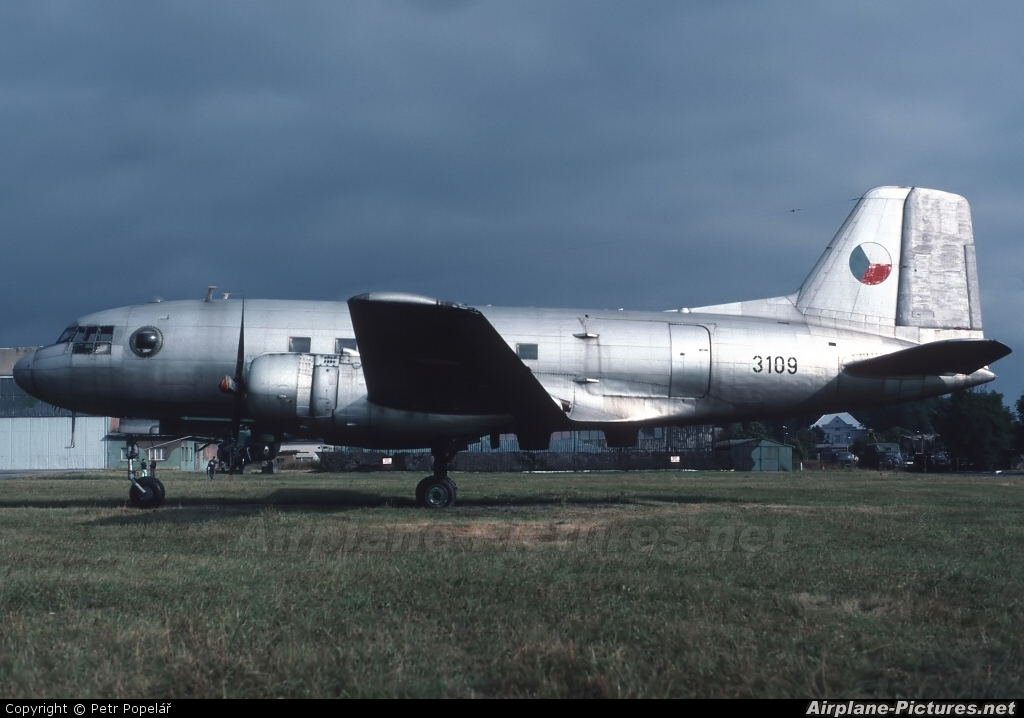 Czechoslovak - Air Force 3109 aircraft at Prostějov