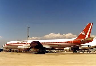 OB-R-1210 - Aeroperu Douglas DC-8