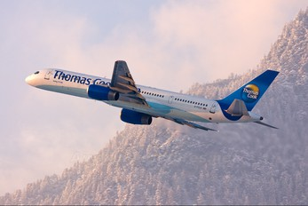 G-FCLK - Thomas Cook Boeing 757-200