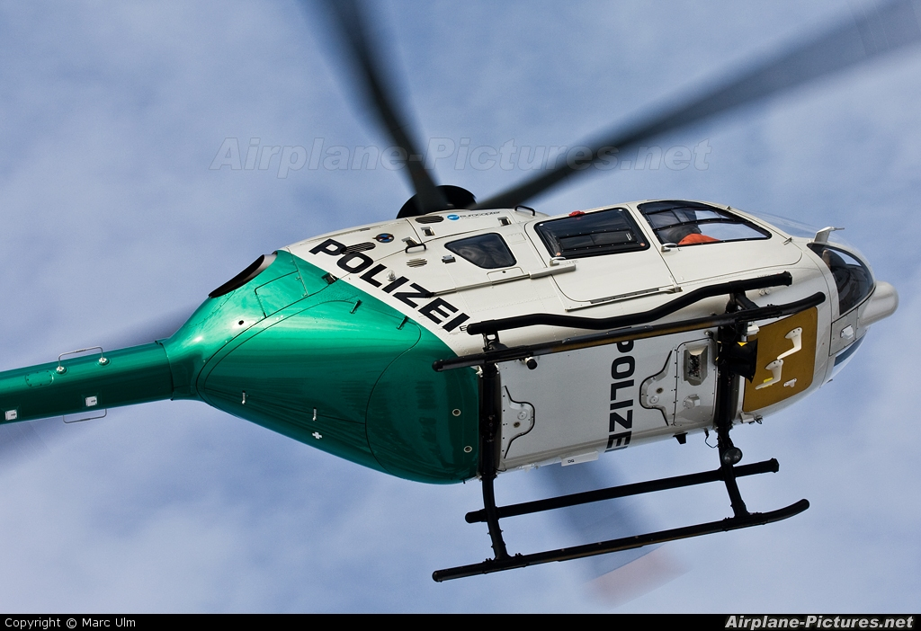 Germany - Police D-HTSG aircraft at Donauwörth - Eurocopter Heliport