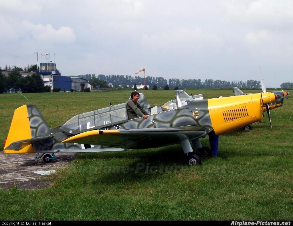 Aeroklub Kosice OM-MQK aircraft at Moravská Třebová
