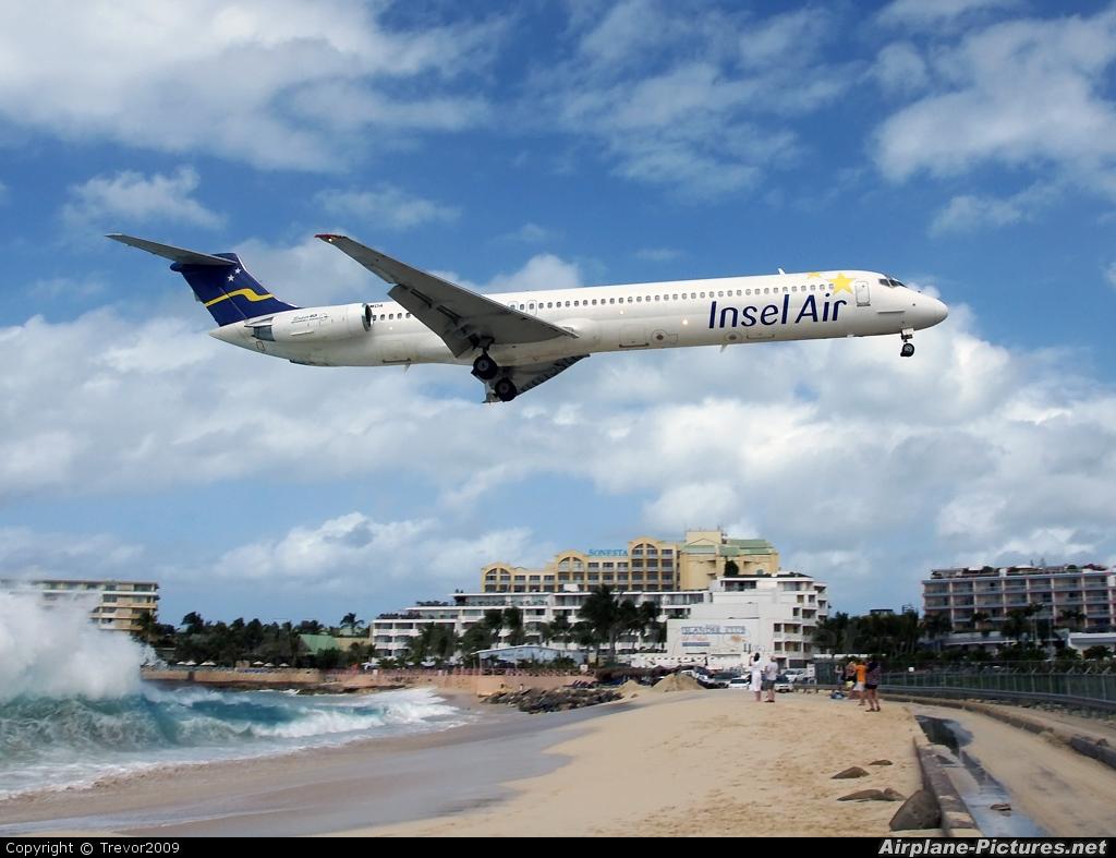 Insel Air PJ-MDA aircraft at Sint Maarten - Princess Juliana Intl