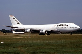N602FF - Air Europe Boeing 747-100