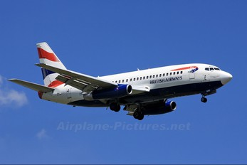 ZS-NNG - British Airways - Comair Boeing 737-200
