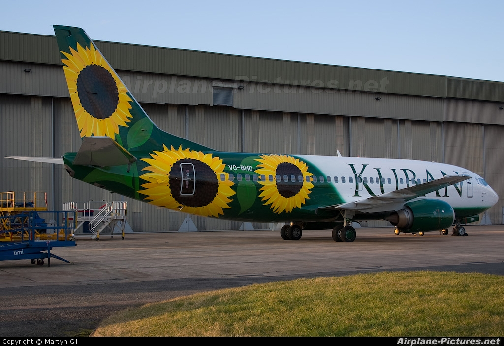 Kuban Airlines (ALK-Avialinii Kubani) VQ-BHD aircraft at East Midlands
