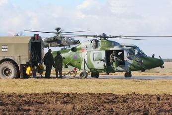 ZE380 - British Army Westland Lynx AH.9