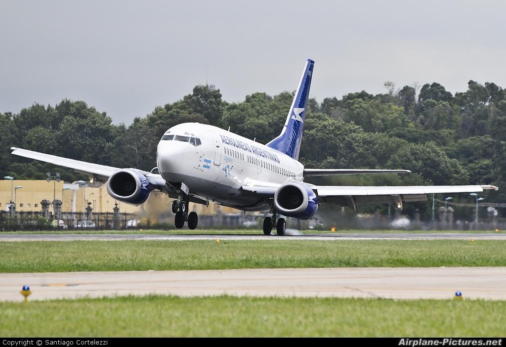 Aerolineas Argentinas LV-BNM aircraft at Buenos Aires - Jorge Newbery