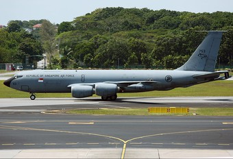 753 - Singapore - Air Force Boeing KC-135R Stratotanker