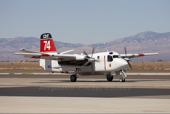 N439DF - California - Dept. of Forestry & Fire Protection Grumman S-2F3AT Turbo Tracker (G-121)